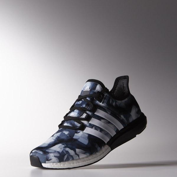 adidas cc gazelle boost black running shoes