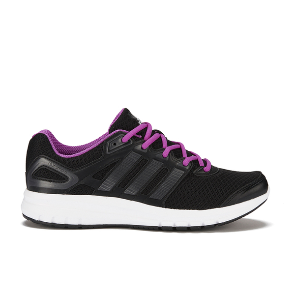 adidas Women's Duramo 6 Running Shoes - Black/Pink: Image 1