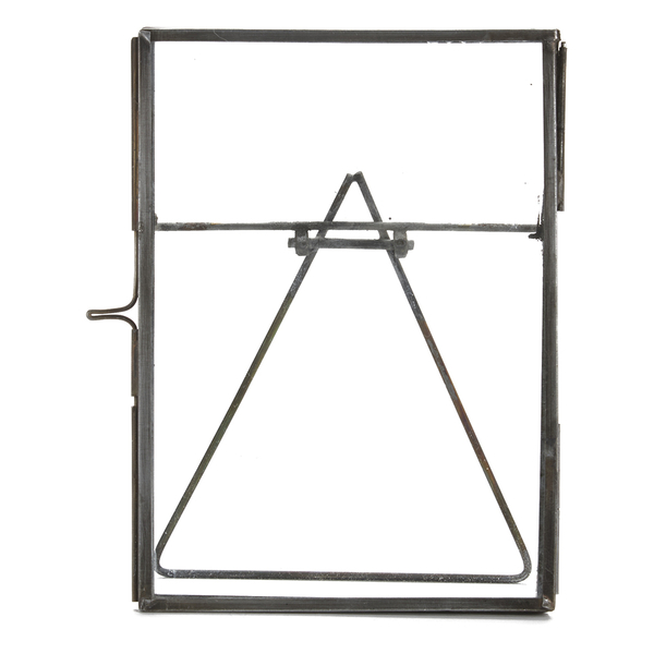 Nkuku Danta Glass Frame - Antique Zinc - 5