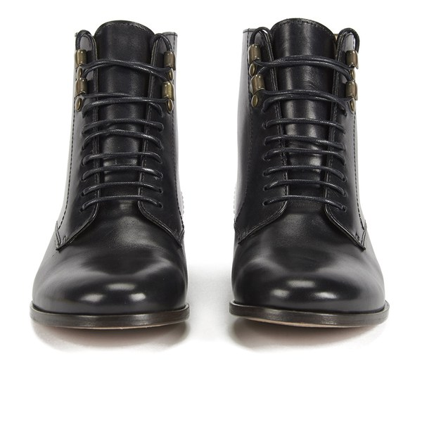 Amazing Womens Dr Martens 8 Eyelet Lace Up Bt BLACK WAVE LEATHER
