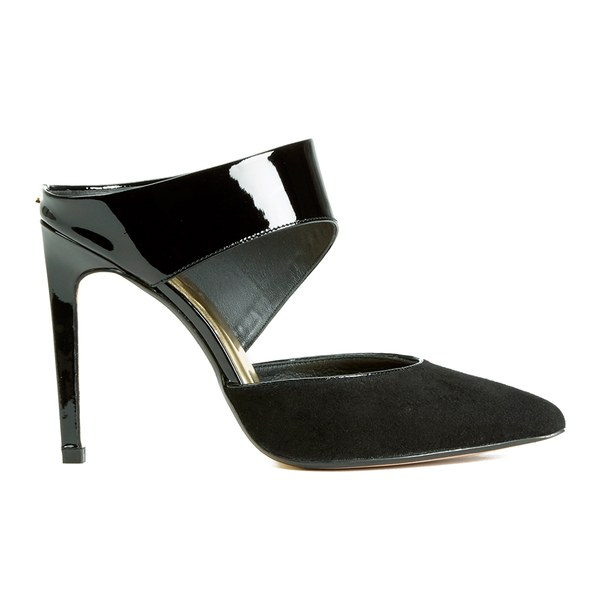 Ted Baker Women's Amenoa Leather/Suede Pointed Heels - Black