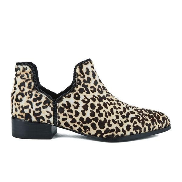 Senso Women's Bailey III Leopard Pony Ankle Boots - Latte: Image 1