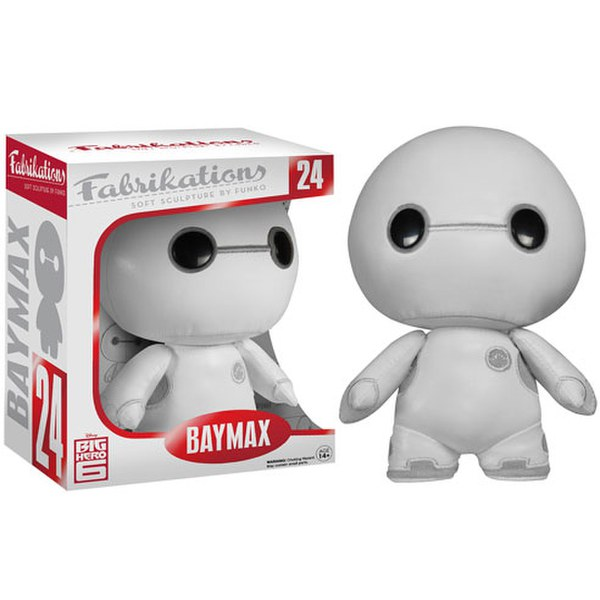 Disney Big Hero 6 Baymax Farbikation Plush Figure