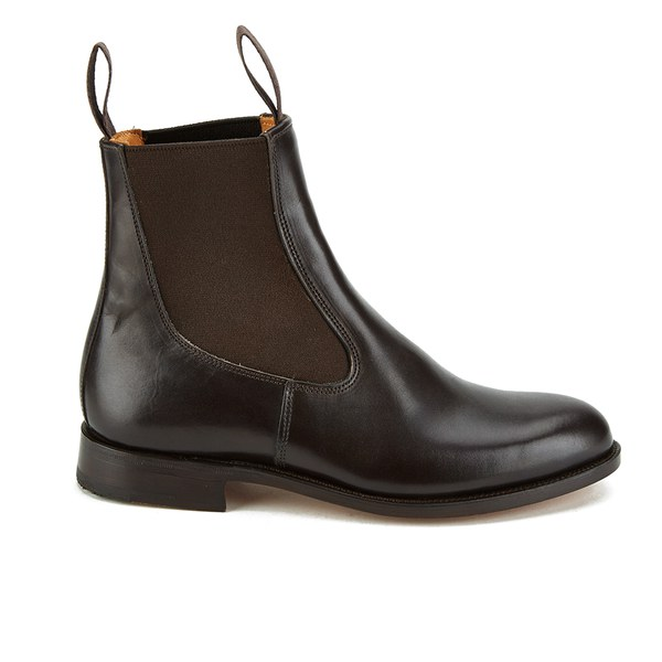 Knutsford by Tricker's Women's Leather Chelsea Boots - Caffe