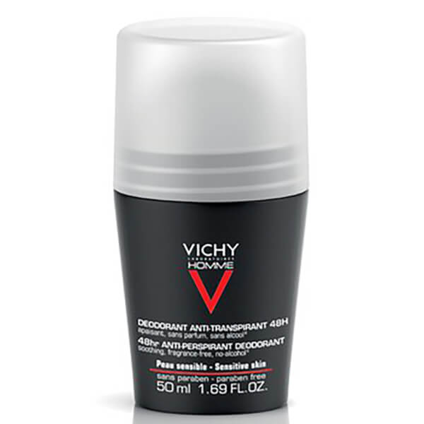 Vichy Homme Deodorant ExtremeAnti Perspirant Roll On 50ml