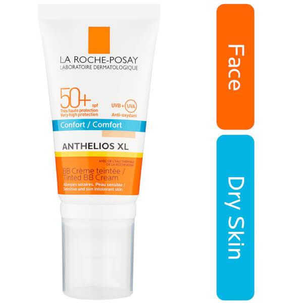la roche posay anthelios xl comfort tinted bb cream spf 50 50ml free shipping lookfantastic. Black Bedroom Furniture Sets. Home Design Ideas