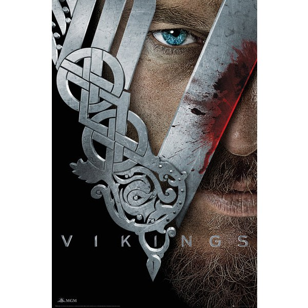 Vikings Key Art - Maxi Poster - 61 x 91.5cm