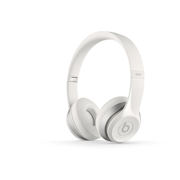Beats by Dr. Dre  Solo2 On-Ear Headphones - White  62f7b557d0eb