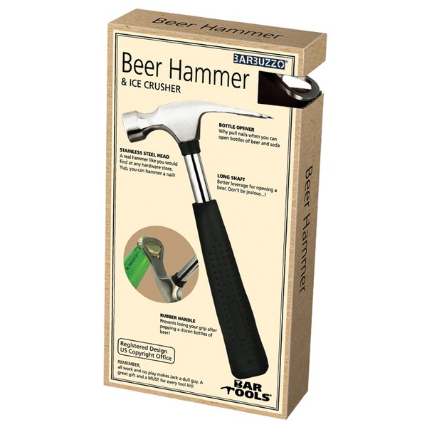 bottle opener hammer iwoot. Black Bedroom Furniture Sets. Home Design Ideas