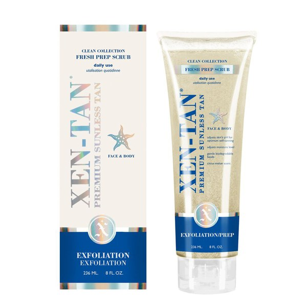 Exfoliante Fresh Prep de Xen-Tan (236 ml)