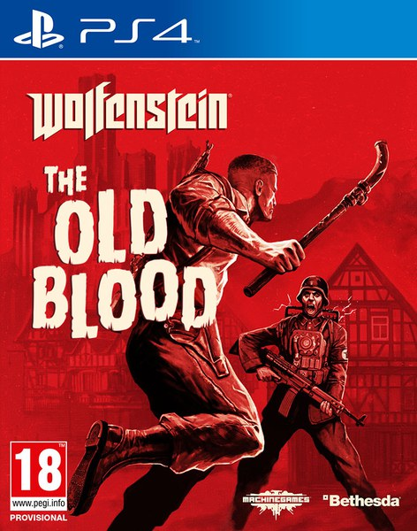 Wolfenstein the old blood ps4 for Blood in blood out mural