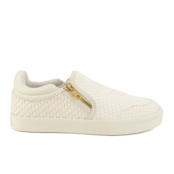 Ash Women's Intense Leather Skater Trainers - Off White