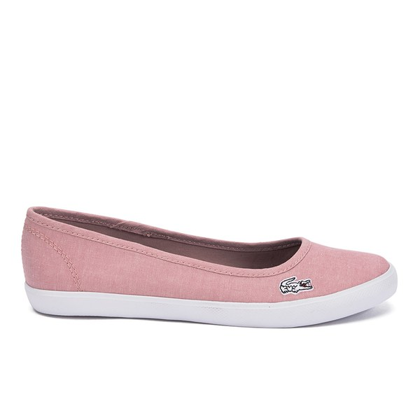 31fd89eeb Lacoste Women s Marthe Lin Chambray Pumps - Pink  Image 1