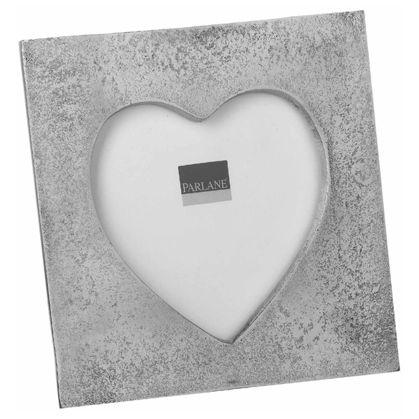 Parlane Heart Frame - Silver (45mm)