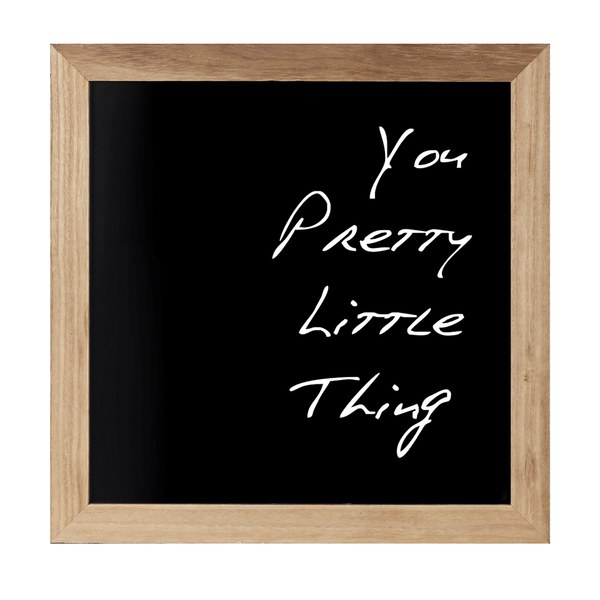Parlane You Pretty Wall Art - Black
