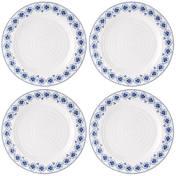 Sophie Conran for Portmeirion Dinner Plate - Eliza - White (Set of 4)  sc 1 st  Coggles & Sophie Conran for Portmeirion Dinner Plate - Eliza - White (Set of 4 ...