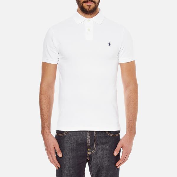 what is polo ralph lauren white polo collar shirt