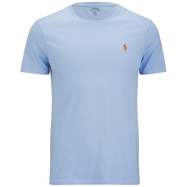 Polo Ralph Lauren Men's Custom Fit Crew Neck T-Shirt - Blue Bell: Image