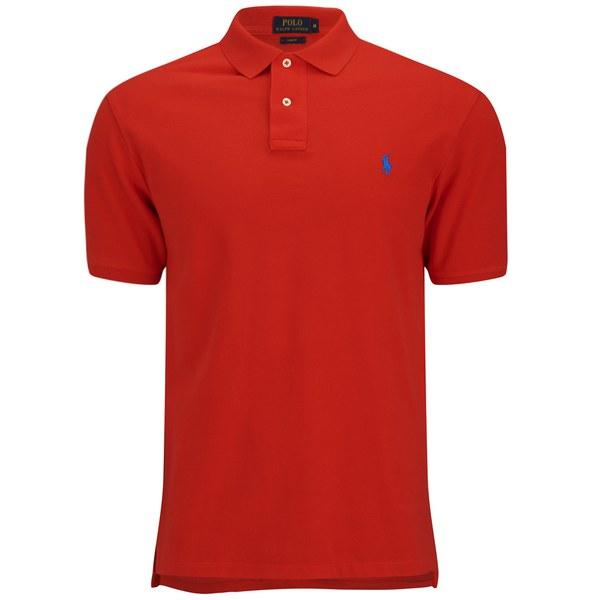 Utestående Polo Ralph Lauren Men's Slim Fit Pique Polo Shirt - Bright GQ-86
