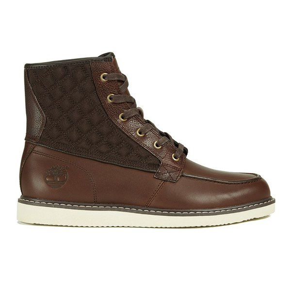Timberland Men S Newmarket 6 Inch Moc Toe Boots Brown Fg