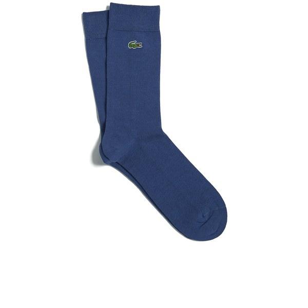Lacoste Men's Socks - Blue