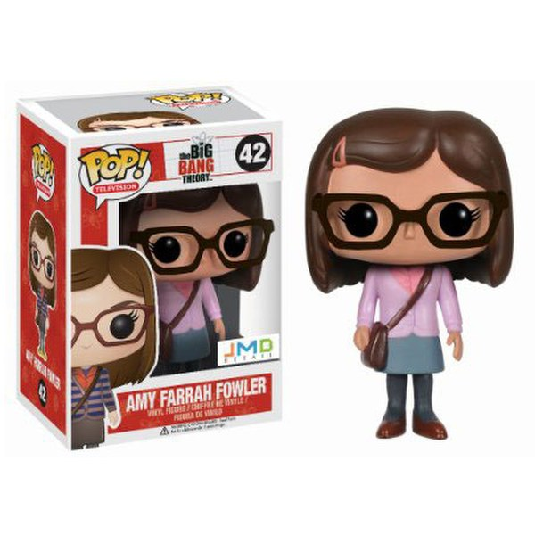 The Big Bang Theory Amy Pink Jumper Exclusive Pop! Vinyl Figure