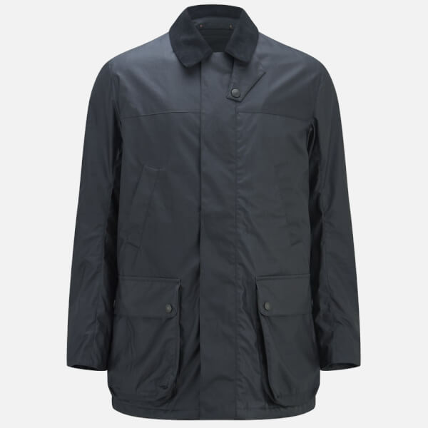 Knutsford Men's 'Made in England' Nylon Shooting Jacket - Navy