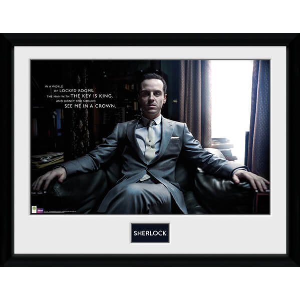 Sherlock Moriarty Chair - Framed Photographic - 16 Inch x 12 Inch