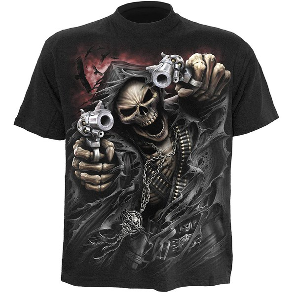 Spiral Men's ASSASSIN T-Shirt - Black