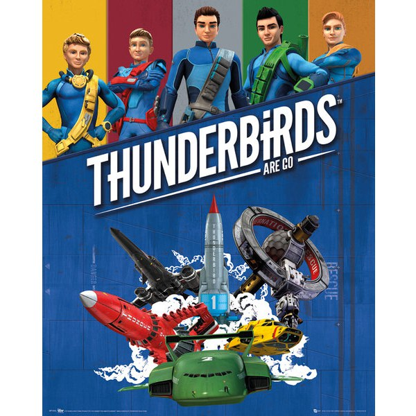 Thunderbirds Are Go - Mini Poster - 40 x 50cm