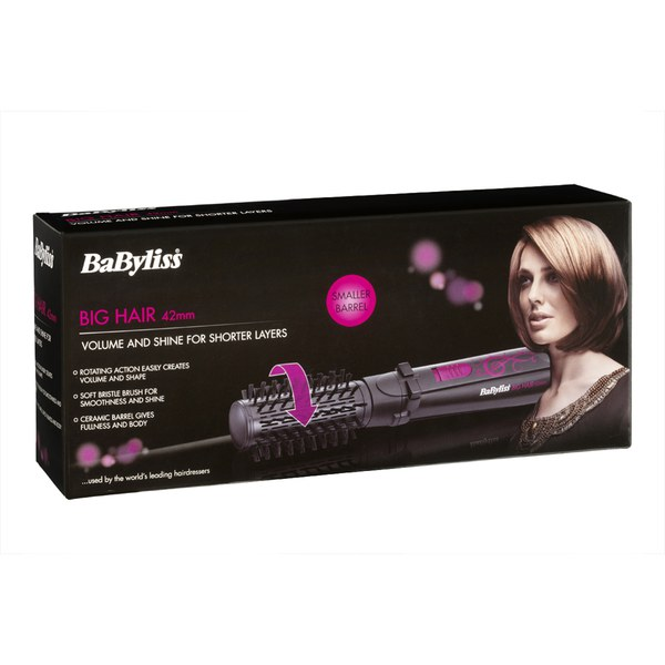 Babyliss Big Hair Airstyler 42mm Black Pink Free