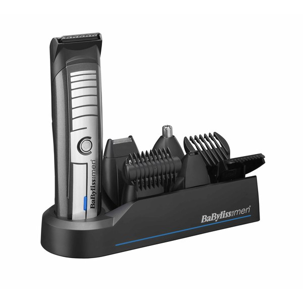BaByliss For Men Super Groomer Trimmer - Black / Silver.