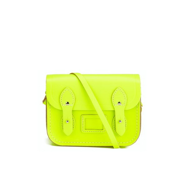 The Cambridge Satchel Company Tiny Satchel - Fluoro Yellow