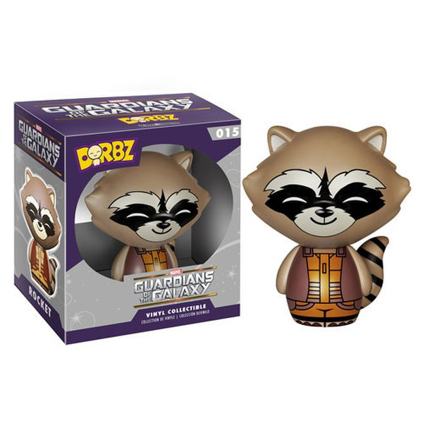 Marvel Guardians of the Galaxy Rocket Raccoon Vinyl Sugar Dorbz Action Figure