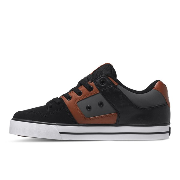 dc shoes s mid top trainers black mens