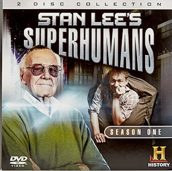 Stan Lee's Superhumans Season One DVD