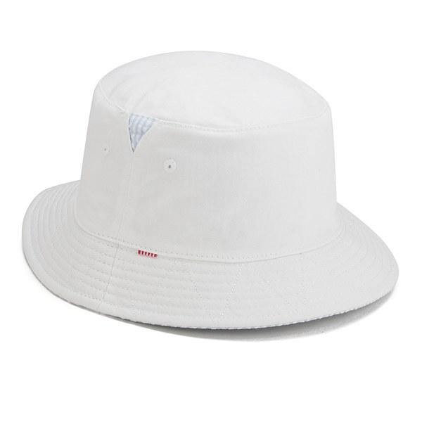 Herschel Supply Co. Lake Reversible Bucket Hat - White Seersucker  Image 2 b897e0e25f27