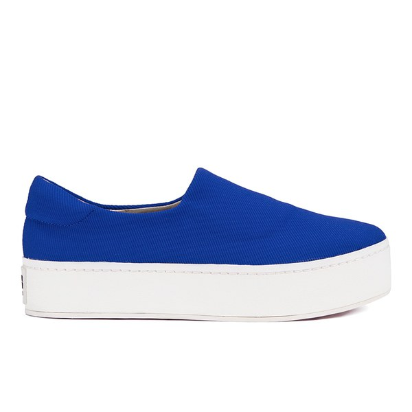 Opening Ceremony Women's Slip On Platform Sneakers - Cobalt