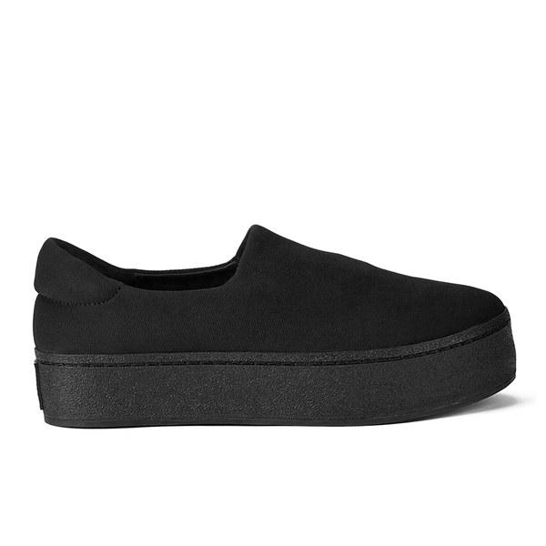 cdabc4b4a8b8 Opening Ceremony Women s Slip On Platform Sneakers - Black  Image 1