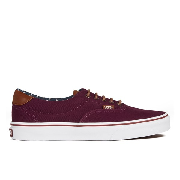 Vans Men's Era 59 T&L Trainers - Windsor Wine/Plus: Image 1