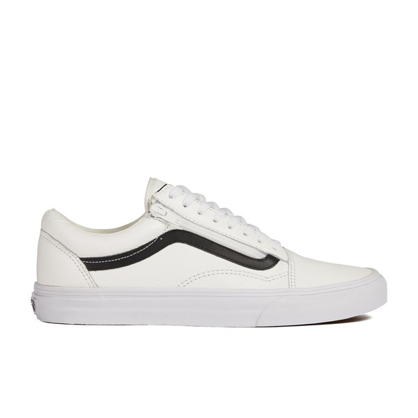 black vans with white stripe