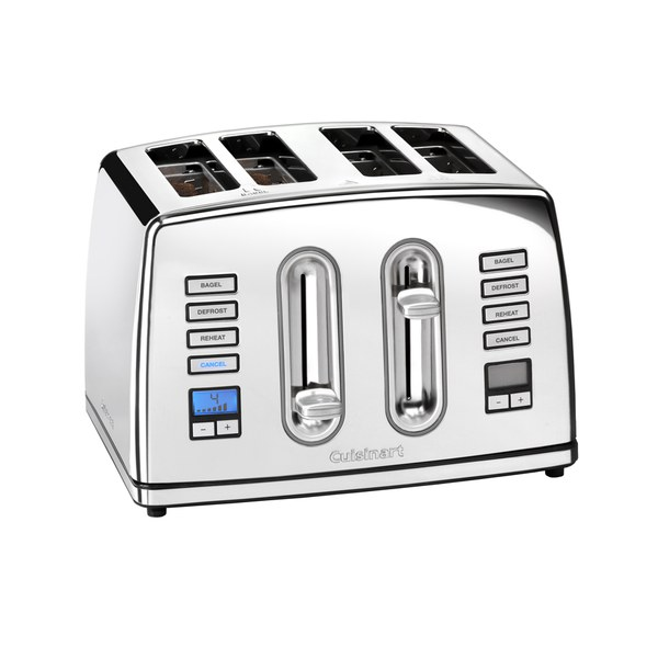 Cuisinart 4 Slice Digital Toaster Polished Stainless