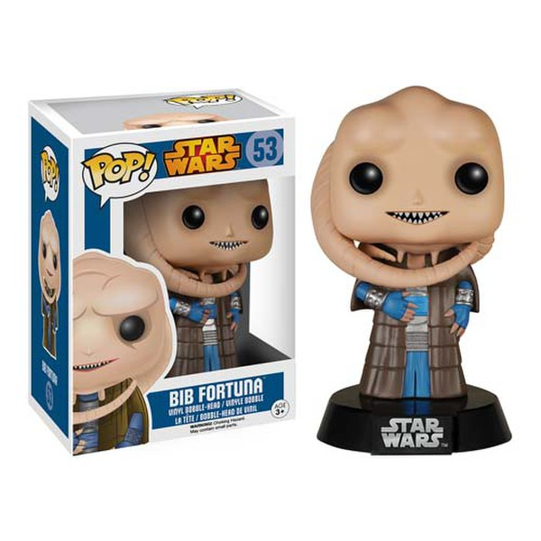 Star Wars Bib Fortuna Pop! Vinyl Bobble Head Figure