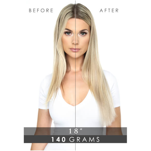 Beauty works deluxe clip in hair extensions 18 inch california beauty works deluxe clip in hair extensions 18 inch california blonde 613 16 pmusecretfo Images