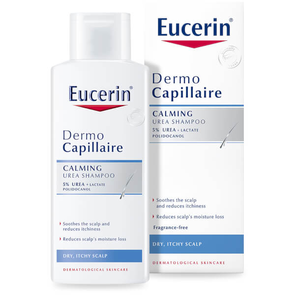 Eucerin® DermoCapillaire Calming Urea Shampoo (250 ml)