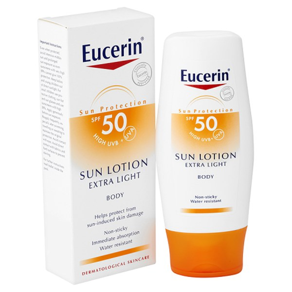 Eucerin® Sun Protection Sun Lotion Extra Light Body 50 Hoch (150 ml)