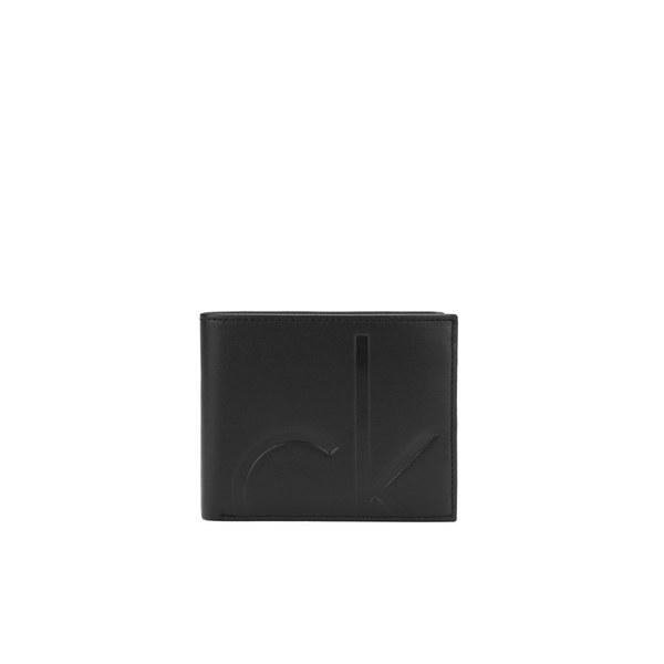 Calvin Klein Clark 5CC and Coin Wallet - Black - Free UK Delivery ... 6192b0a56af