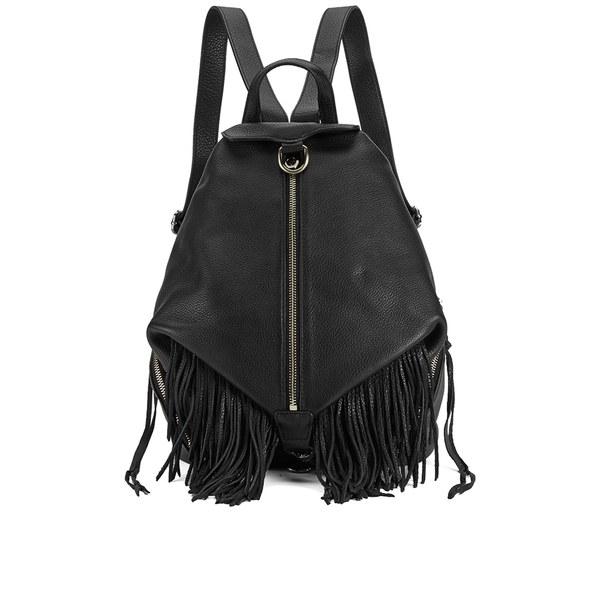 Rebecca Minkoff Women's Fringe Julian Backpack - Black