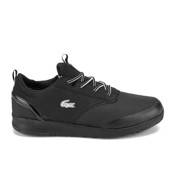 05ad1a18e116d Lacoste Men s Light 2.0 REI Running Trainers - Total Black Clothing ...