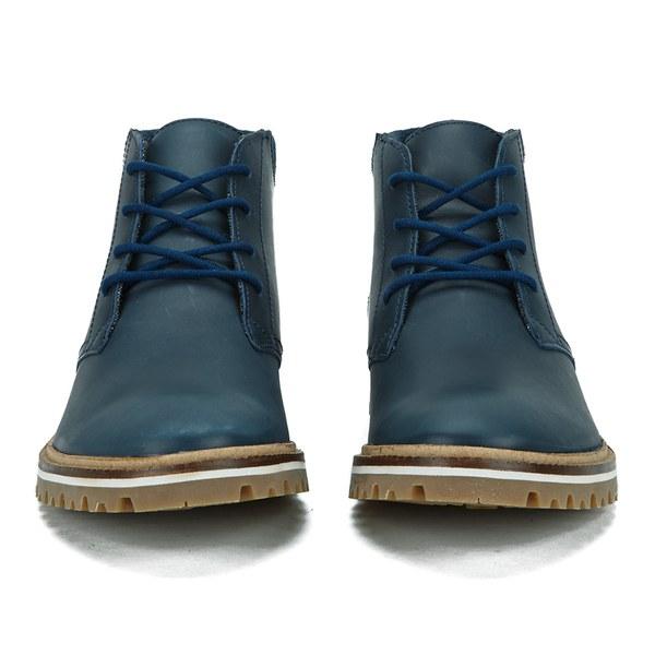 Lacoste Men's Montbard Leather Chukka Boots - Dark Blue: Image 4